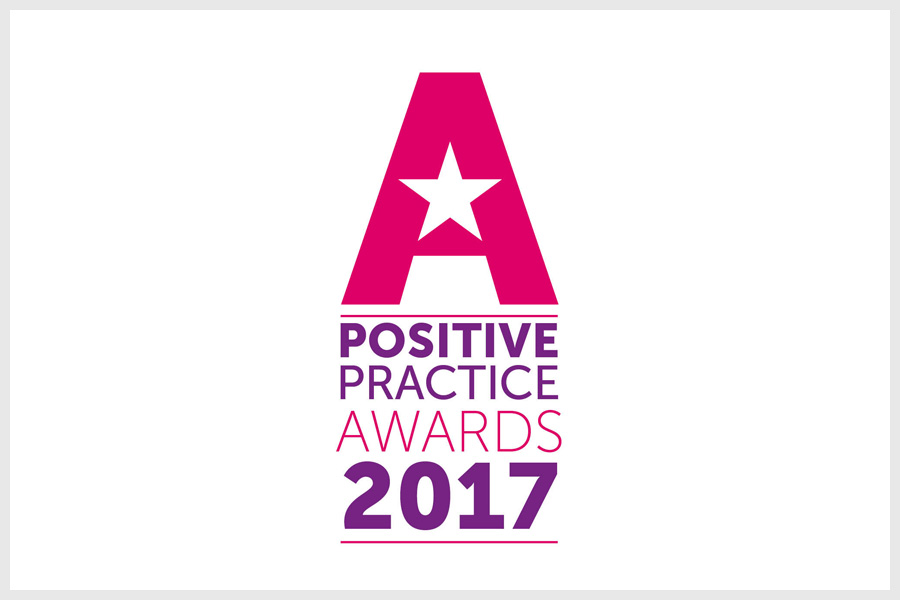 Positive practice awards logo