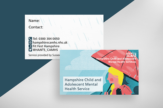 Business card CAMHS