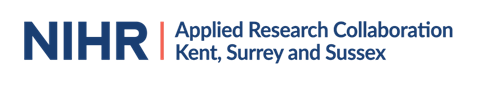 NIHR: Applied Research Collaboration Kent, Surrey and Sussex logo